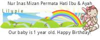 Lilypie First Birthday (bNiy)