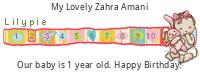 Lilypie First Birthday (nUC6)