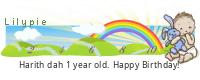 Lilypie First Birthday (tpAv)